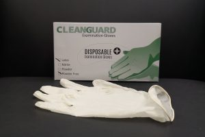 Cleanguard (100PCS) Powder Free Latex Medical Disposable Gloves